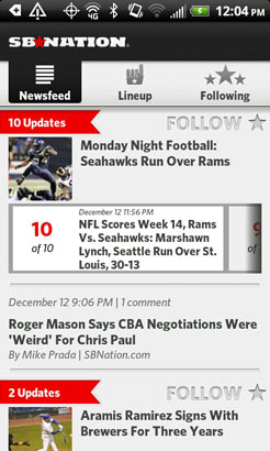 SB Nation Android app