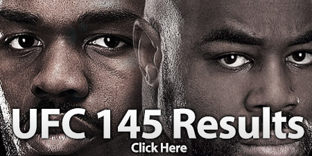 UFC 145 Results