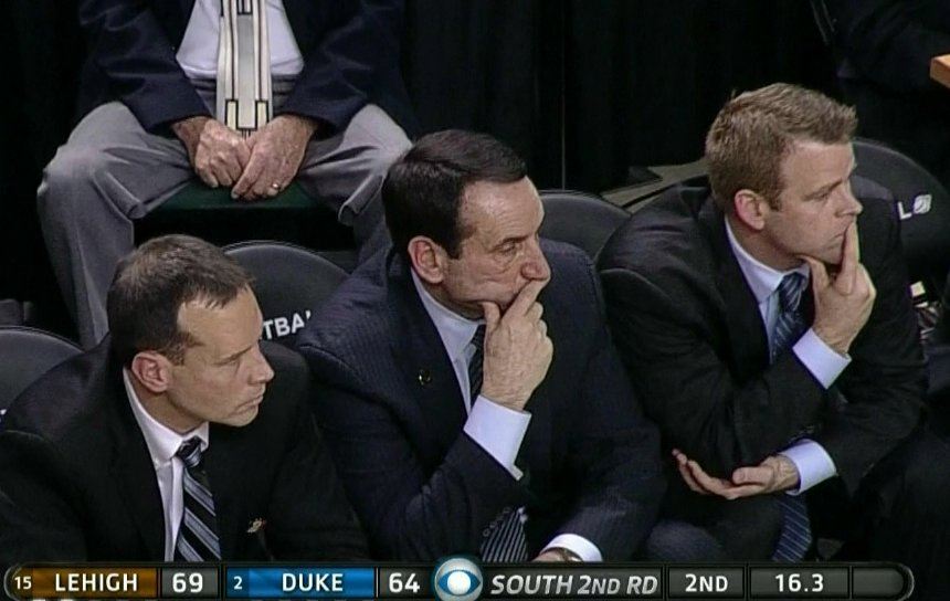 Duke fans crying