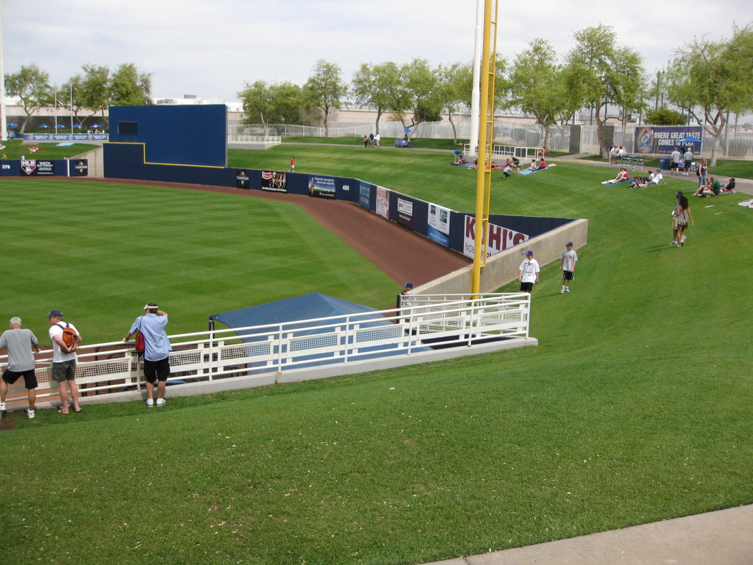 Spring Training Stadium Tour Maryvale Baseball Park