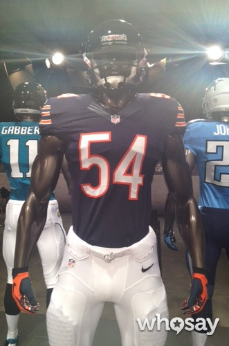 New Chicago Bears Jersey by Nike - Windy City Gridiron