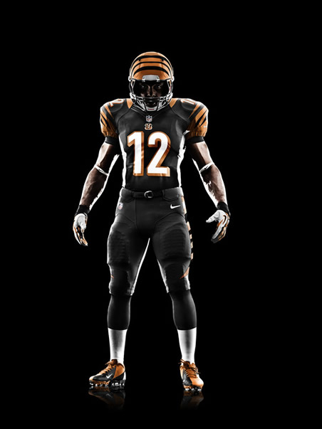 Nike Unveils Bengals Uniform: Much Of The Same With Slight ...