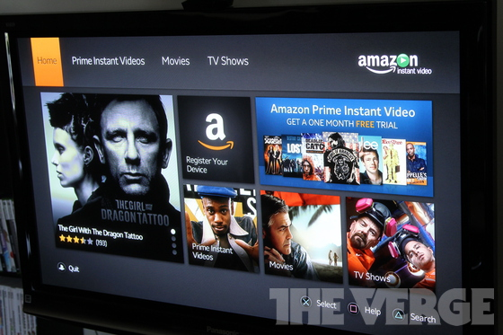 Sony PS3 gets Amazon Instant Video app, streams purchased ...