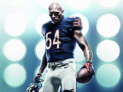 Nike Bears #13 Kevin White Black Men's Stitched NFL Elite Pro Line Gold Collection Jersey