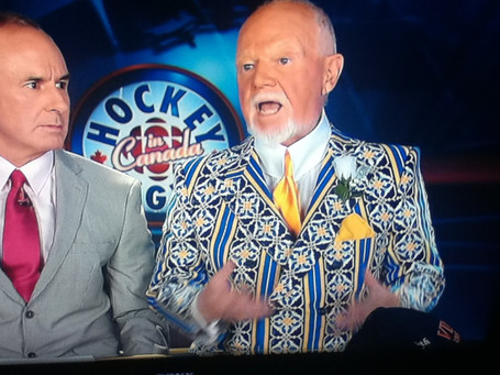 Don Cherry's Suit Wishes You A Happy Easter