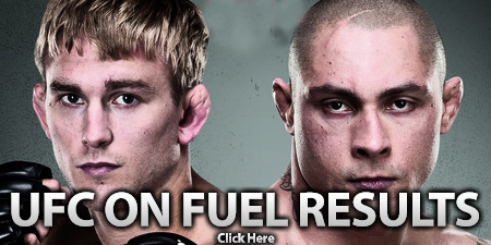 UFC on FUEL TV 2 Results