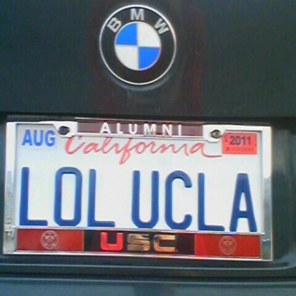 Best BYU Custom License Plate? - Vanquish The Foe