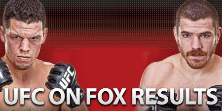 UFC on FOX 3 Results
