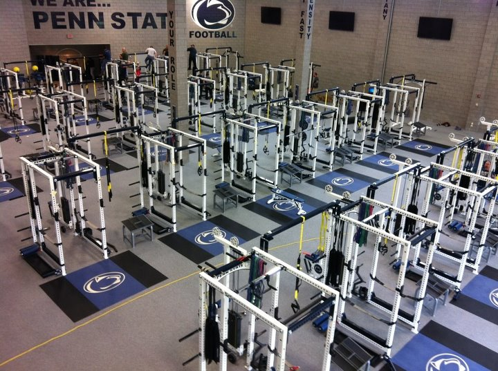 Penn state s new weight room is very very real black shoe diaries
