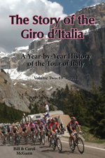 The Story of the Giro d'Italia, Volume Two, by Bill McGann