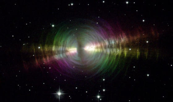 Hubble Space Telescope Catches Close Up Of A Fading Star