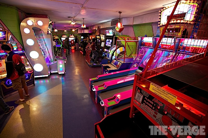 Arcade Game Rooms In Nyc