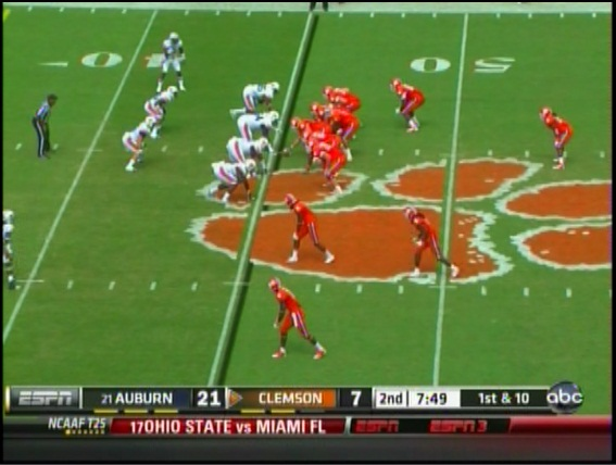 Inside the Clemson Offense: Tackle Eligible Formation - Shakin The ...