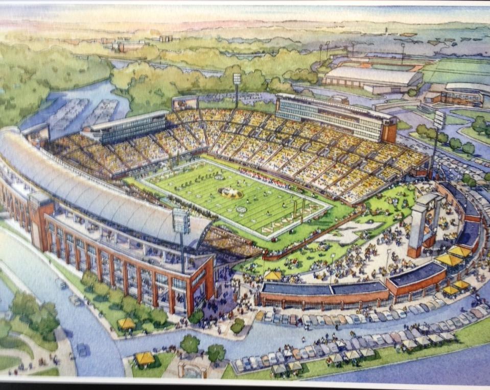 School Stadium Expansions Construction