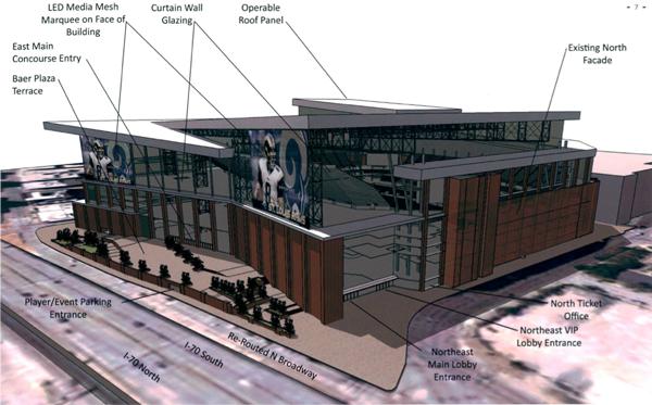 New Rams Stadium Proposal Team Demands Enormous Ransom