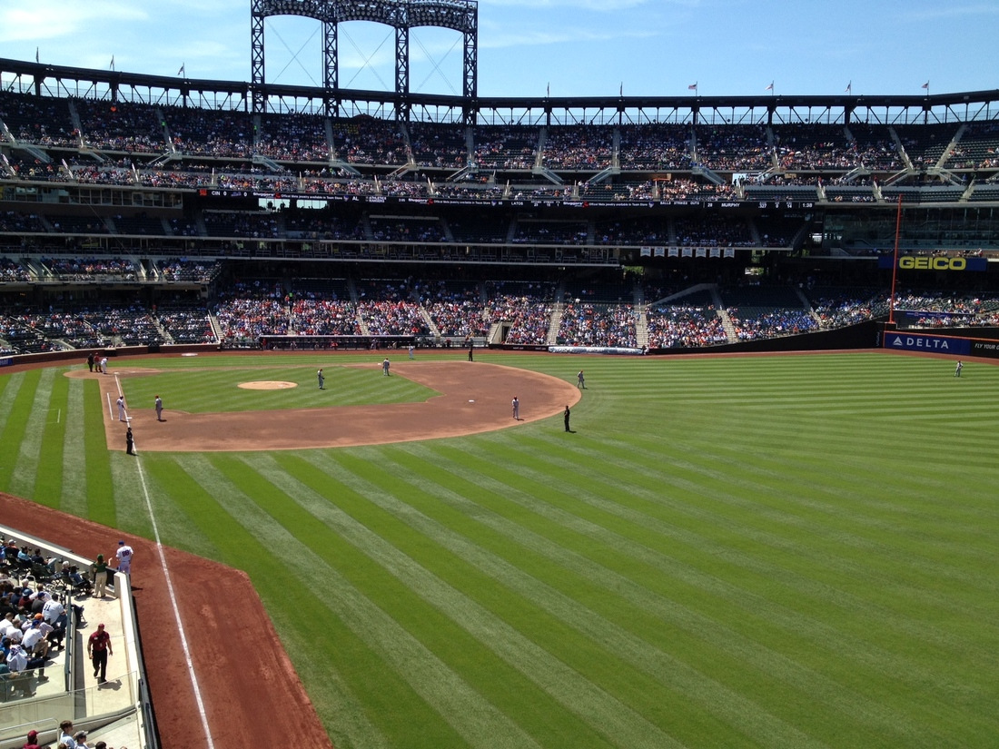 The View From Your Seat Mets Vs Reds 5 17 12 Amazin