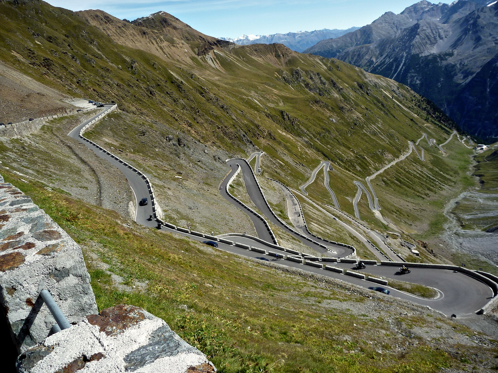 Best Motorcycle Roads In Italy