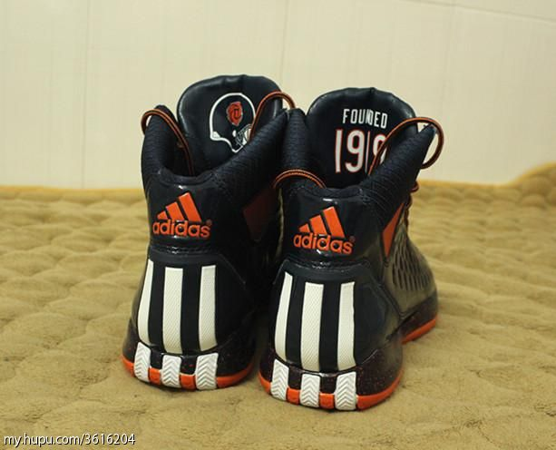 Chicago Bears Colorway On New Derrick Rose Shoes Is Pretty Sweet