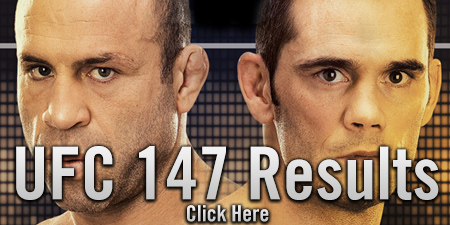 UFC 147 Results