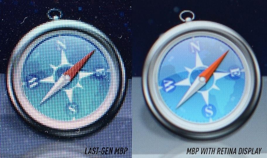 macbook pro retina display vs 1080p resolution