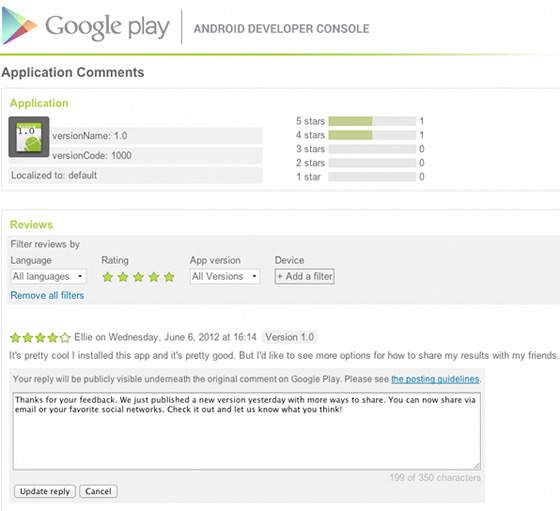 Google-play-replies