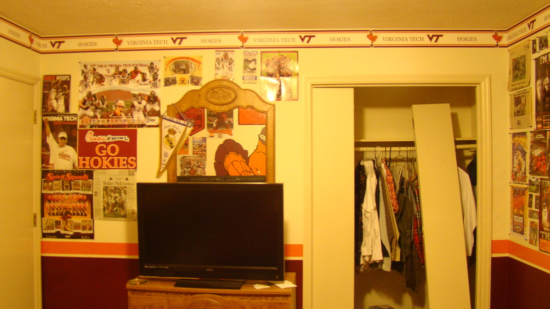 Chicagomaroon\'s Childhood Home, Virginia Tech Themed Room To Be ...