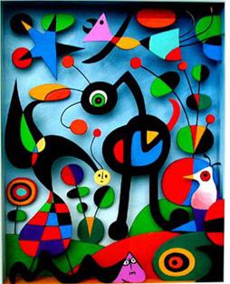 Joan Miro's The Garden