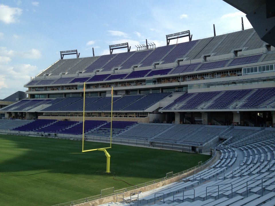 Behind The Scenes Amon G Carter Stadium Frogs O War