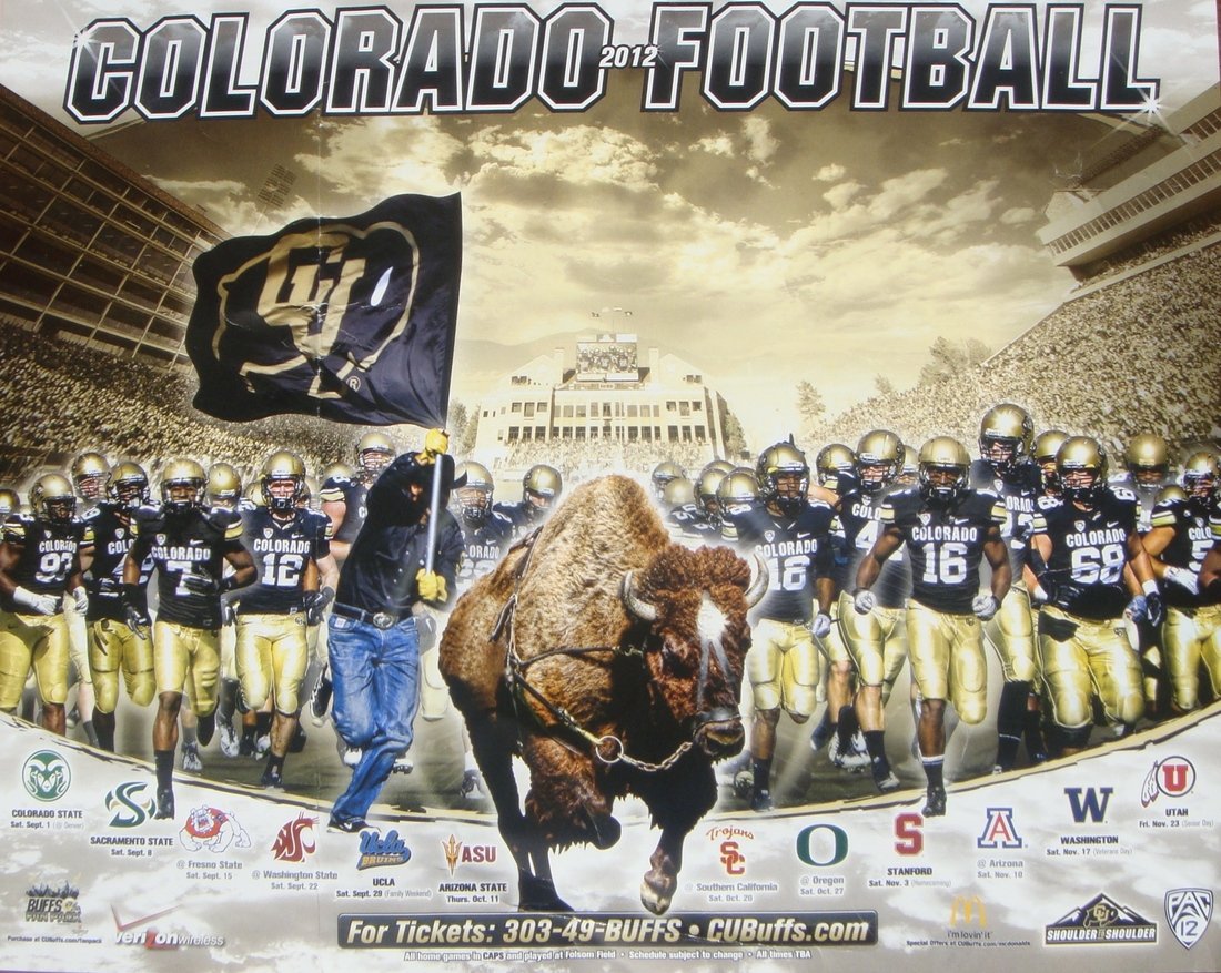 Colorado Buffaloes Wallpaper Thanks to Matt For Sending