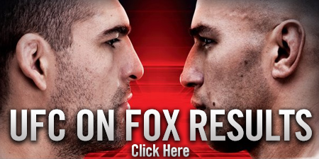 UFC on FOX 4 Results