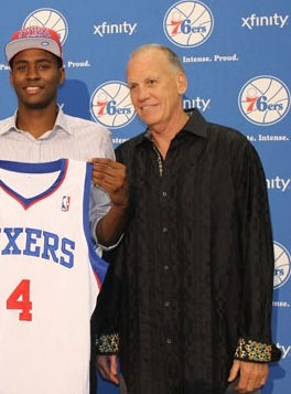 Face Sixers Franchise Andrew Bynum
