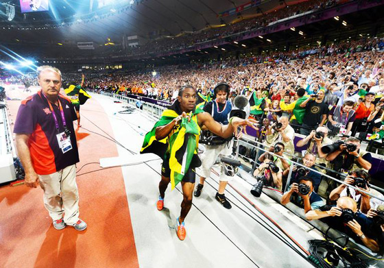 Yohan-blake-by-usain-bolt