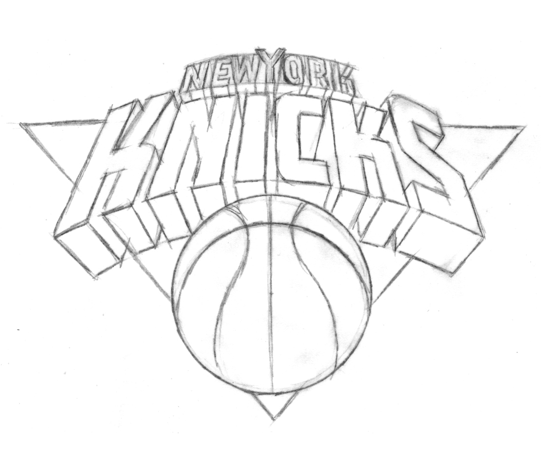 nba team logos coloring pages - photo#25