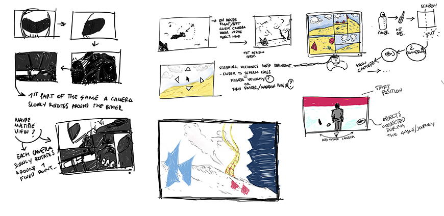 Street Song storyboards