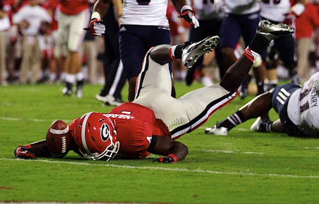 Nick_marshall_face_plant