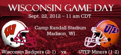 Wisconsin Badgers Game Day: UTEP