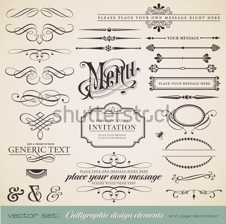 Shutterstock_menu_vector_set