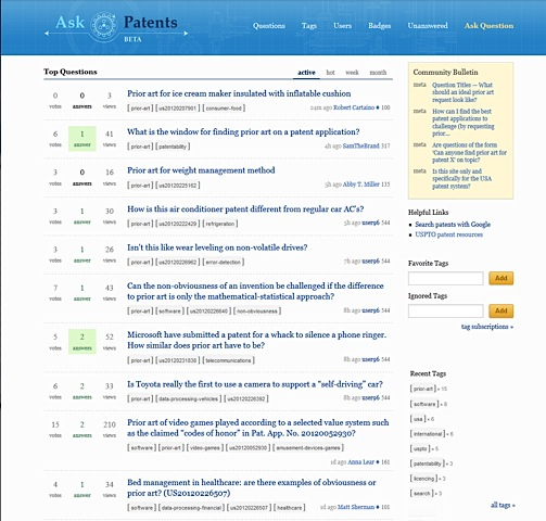 Ask_patents_front_page