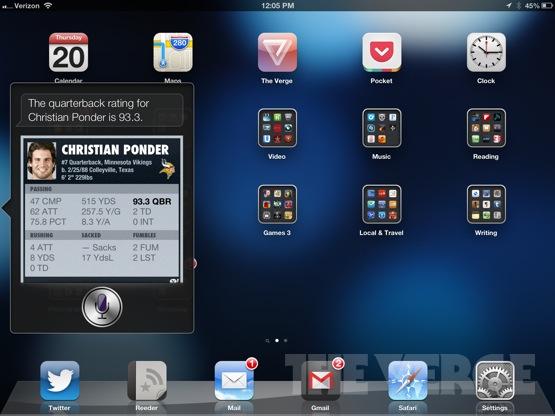 Siri-ipad