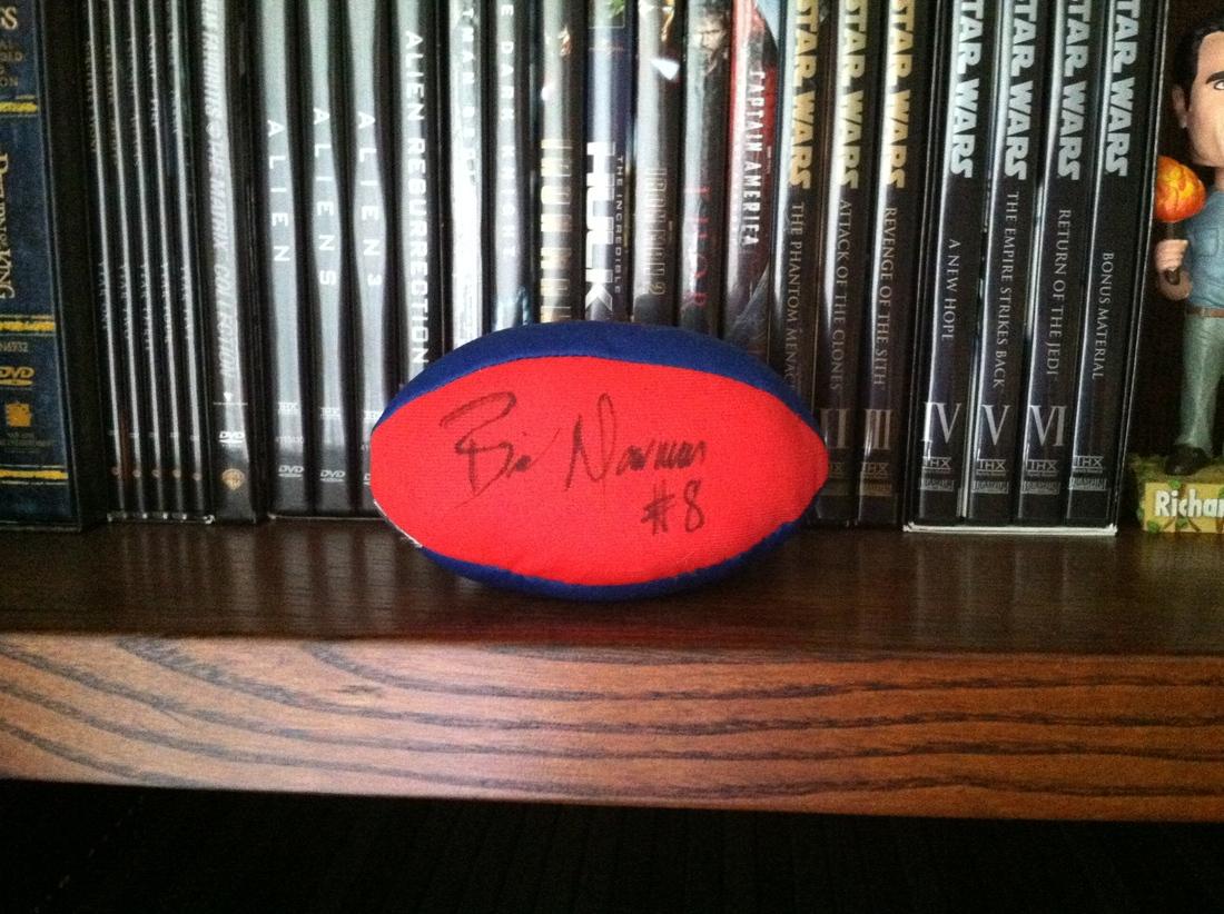 Brian Moorman autograph