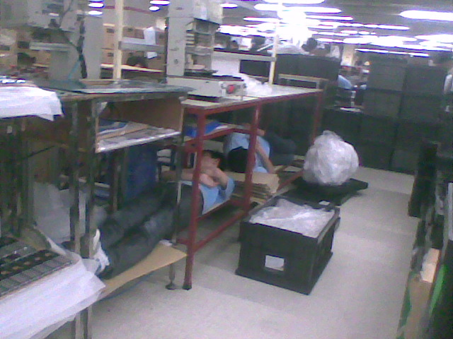 Vtech-workers-sleeping
