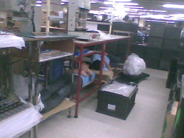 Vtech-workers-sleeping