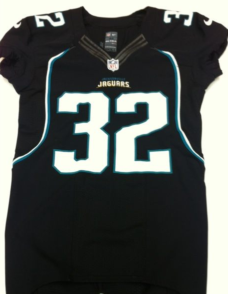 Jaguars black uniform