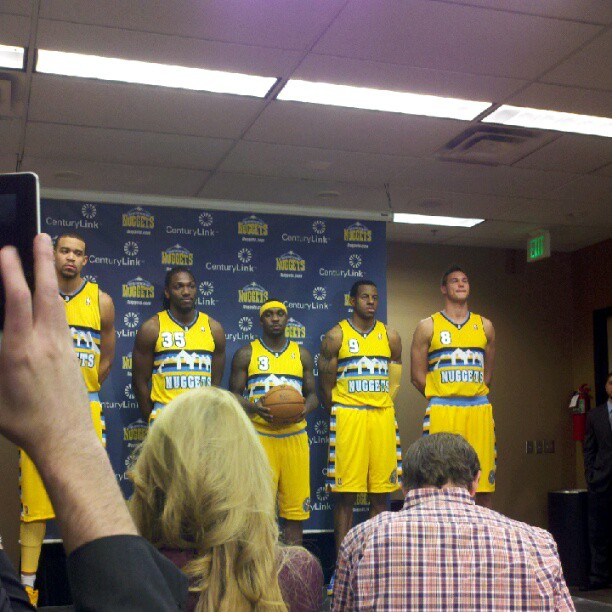 Nuggets To Wear New Alternate Uniforms 18 Times In 2012-13
