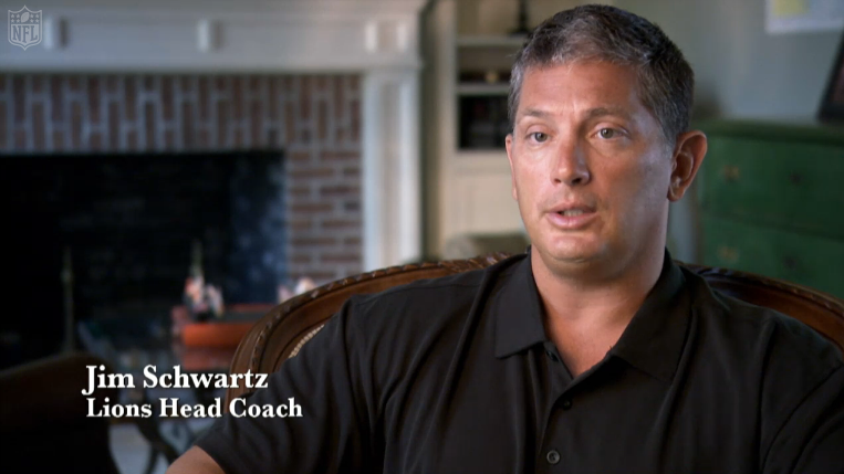 Jim Schwartz appears in NFL Networks Cleveland 9