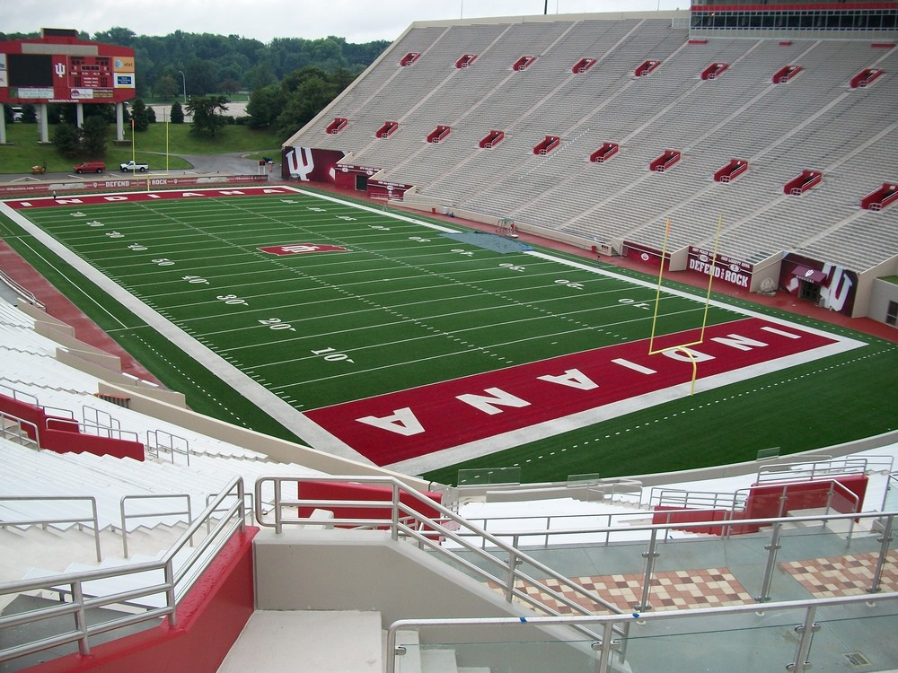 A close-up look at IU's expanded Memorial Stadium. - The ...
