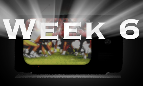 CFB Week 6 TV