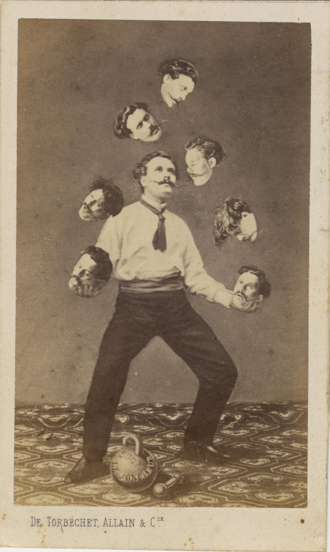 Man Juggling His Own Head
