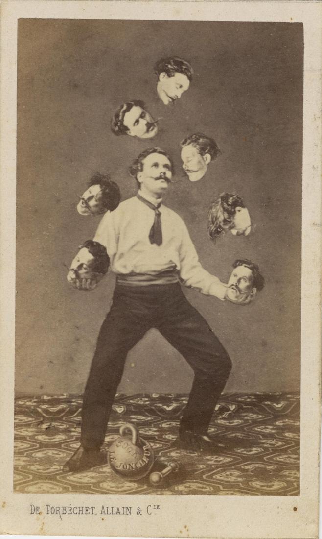 Man Juggling His Own Head