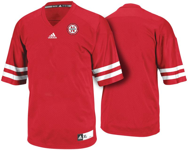 2012 Nebraska Addidas Replica Jersey